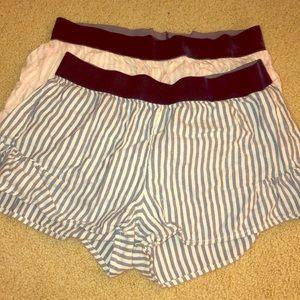 Aerie sleep shorts bundle